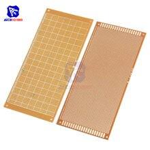 Diymore-Placa de papel de baquelita, prototipo de placa de papel, PCB, Universal, experimento, matriz de un solo lado, 10x22cm, 10x22CM