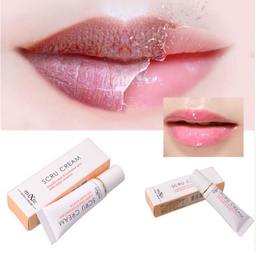 New Professional Moisturizing Full Lips Cosmetics Remove Dead Skin Gel MIXIU Brand Propolis Lip Care Exfoliating Lip Scrub