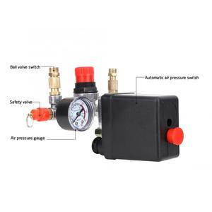 Image 3 - Автоматический клапан давления в сборе, 90 ~ 220 psi, для воздушного компрессора с одним отверстием, в, регулятор воздушного компрессора