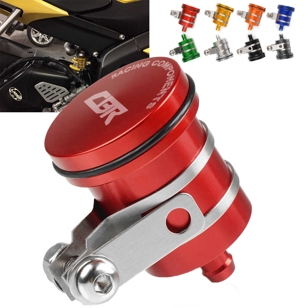 עבור הונדה CBR 400 cbr600 CBR900RR CBR250R CBR1000RR אופנוע אחורי בלם נוזל מאגר מצמד טנק שמן נוזל כוס כיסוי