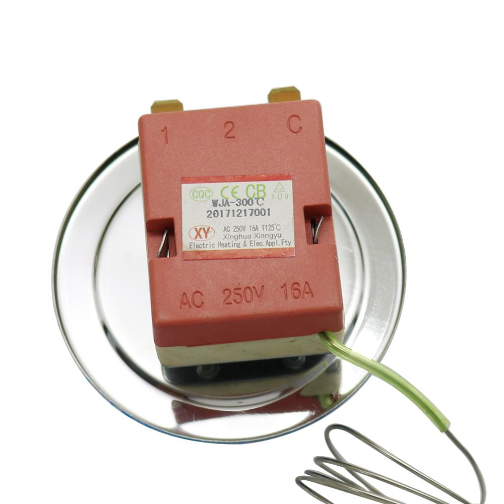 Rotary Selector 2 Pin Connector Electric Oven Temperature Controller
