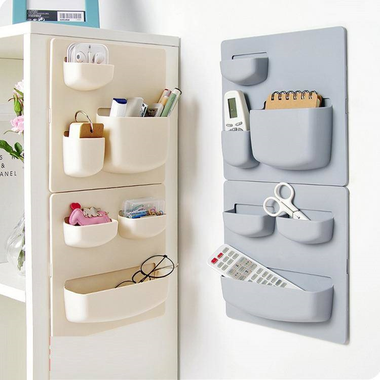Household Paste Type Punch-free Wall Hanging Rack Kitchen Finishing Rack Bathroom Wall Storage Rack ZP7021155