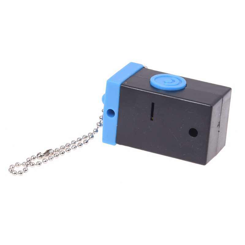 Cute Mini Double Twin Lens Reflex TLR Kamera LED Flash Light Torch Suara Shutter Gantungan Kunci