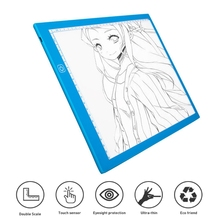 A4 LED Drawing Pad Tablet Digital image Tablet Art Painting Copy Board Electronics Painting Table with Magnetic