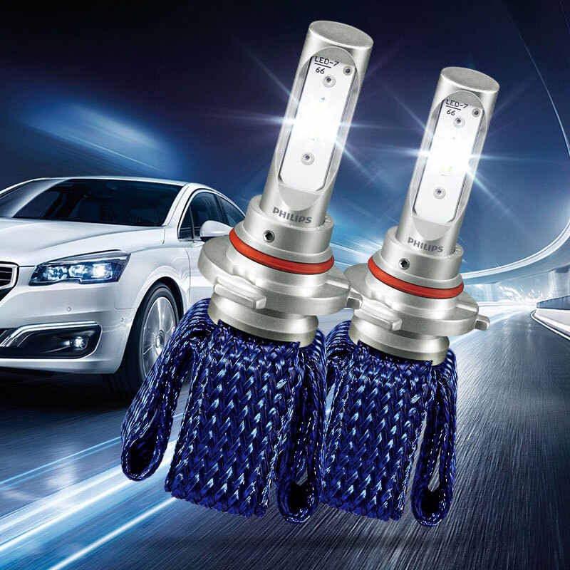 2X Philips Ultinon Essential LED Kit 6000K 12V HB3 HB4 9005 9006 Headlight LED Car Bulbs Fog Lamps 100% More Bright 11005UEX2