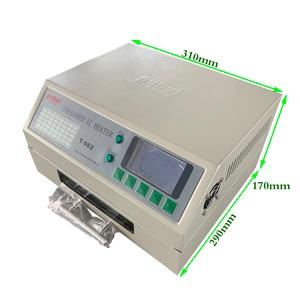 Image 5 - Puhui T962 800W 리플 로우 장비 T962 적외선 리플 로우 오븐 퍼니스 IC 히터 BGA SMD SMT 재 작업 스테이션