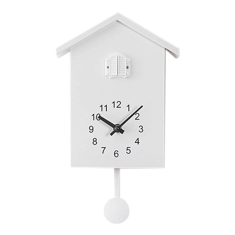 Cuckoo Clock Wall Clock- Movement Chalet-Style , Minimalist Modern Design