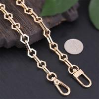 Metal Bag Chains Women Bags Parts Long Purse Chains Gold Handbag Straps High Quality Bags Accessories Replacement DIY Straps