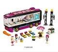 684 шт Pop Star Tour Bus 10407 Друзья серии строительные блоки игрушки для детей совместимы с Lepining 41106
