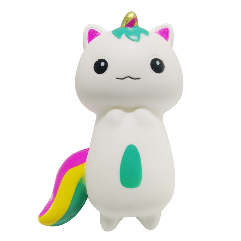 Jumbo Unicorn Cat Squishy Cake Bread Squishies Cream Scented Slow Rising Squeeze Toy Kids Birthday Gift For Children