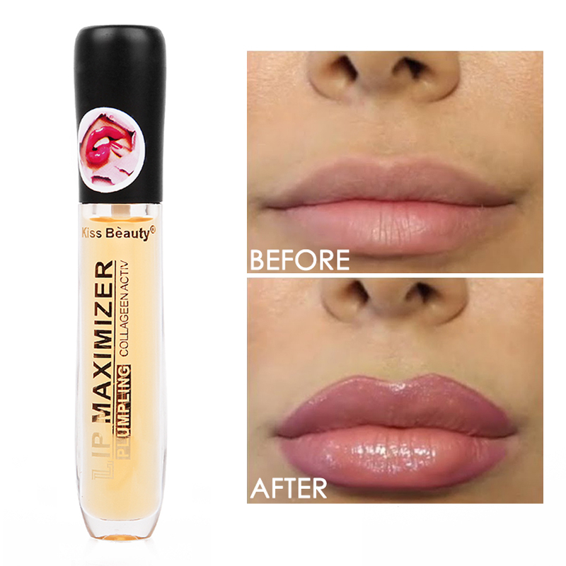 Instant Volumising Lip Plumper Moisturizing Enhancement Lip Repairing Reduce Lip Fine Lines Brighten Lip Color Lip Plumper Oil