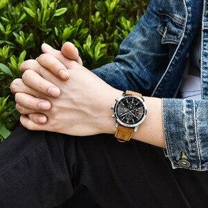Image 4 - Reloj de cuarzo BENYAR a la moda con cronógrafo deportivo de lujo para Hombre