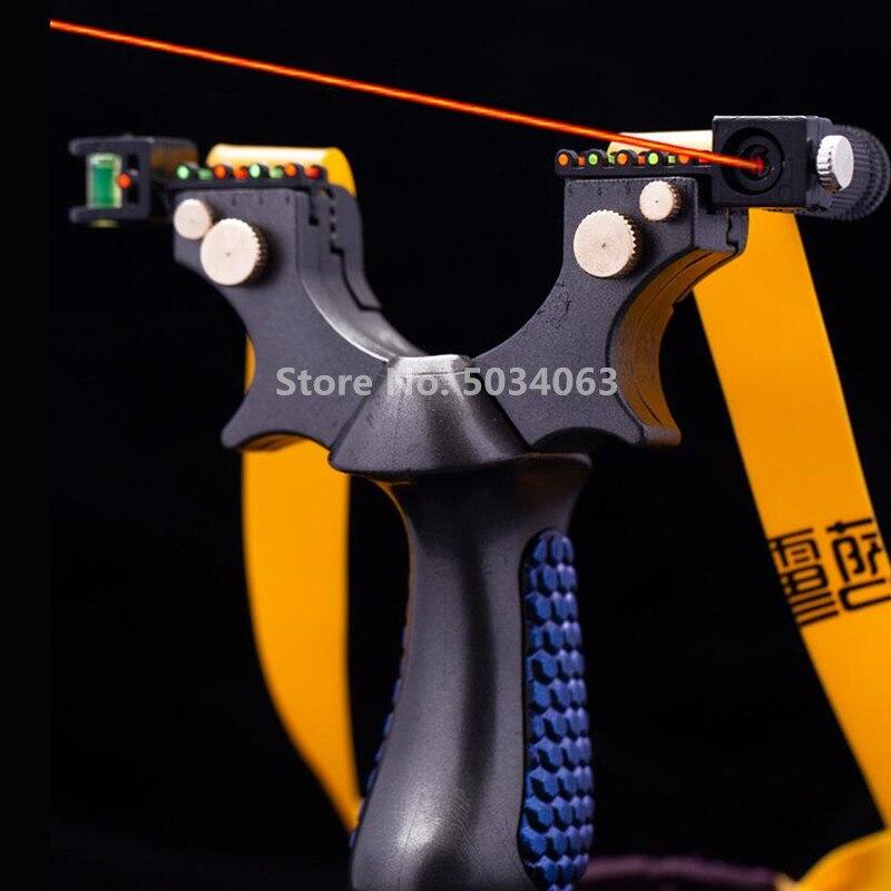 Laserowe celowanie proca żywica proca wysokiej mocy gumka proca na zewnątrz wysoko precyzyjne strzelanie proca do polowania Shooti