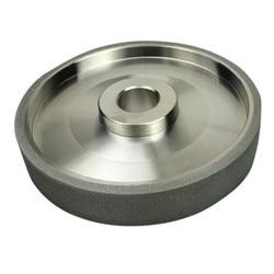 150 Grit  CBN Grinding Wheel Diamond Grinding Wheels  Diameter 150mm High Speed Steel For Metal stone Grinding Power Tool h6