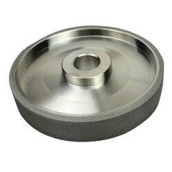 150 grains CBN meule diamant meules diamètre 150mm acier haute vitesse pour métal pierre meulage outil électrique h6