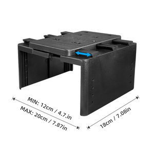 Image 5 - Universal Armrest Box Central Container Storage Box PU Leather Armrest Box Car Styling Accessories Single Layer Dual Layer