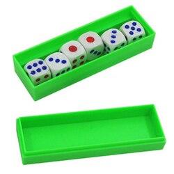 Dicas de previsão (dados normais e instruções on-line) truques de magia seis morrer flash mudança magia close-up gimmick prop brinquedo para crianças