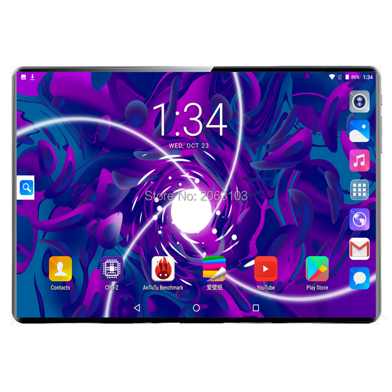Free Shipping BOBARRY Android 9.0 10.1 Inch MT6797 T100 Tablet Pc 10 Core 8GB RAM 128GB ROM 1920x1200 IPS 4G LTE Gift Tabletter