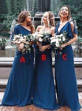 2019 Sexy Women Bridesmaid Dresses Vestidos De Madrinha Wedding Guest Dress Formal Party Long