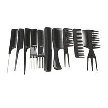 10pcs Hair Brush Comb Salon Anti-static Combs Hairbrush Hairdressing Professional Care Styling Tools