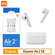 Original Xiaomi Air 2 SE TWS Drahtlose Bluetooth 5,0 Kopfhörer AirDots 2SE Mi Wahre Redmi Airdots S 2 Ohrhörer Luft 2SE Eeaphones