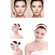 Small Face V Shaper Facial Slimming Bandage Relaxation Lift Up Belt  Reduce Double Chin Face Thining Band Massage beauty face lift up belt sleeping face lift mask silicone massage slimming face shaper relaxation facial slimming health