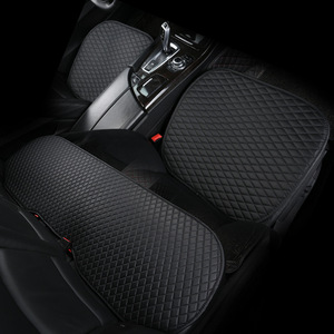 Image 1 - Cojín de cuero Artificial para asiento de coche, funda Universal resistente al desgaste, resistente al agua, 3 colores