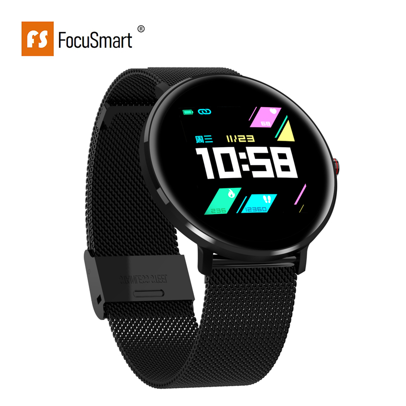 FocuSmart L10 Smart Watch Men ECG Heart Rate Blood Pressure Oxygen Monitor IP68 Waterproof Bluetooth Men <font><b>Smartwatch</b></font> PK L5 <font><b>L7</b></font> L8 image