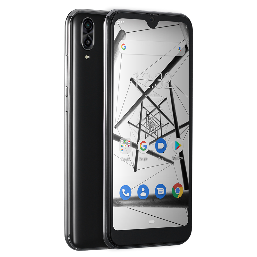Cubot R19 4G Smartphone 5.71 ''Android 9.0 Quad Core empreinte digitale visage ID téléphone portable 3GB RAM 32GB ROM - 3