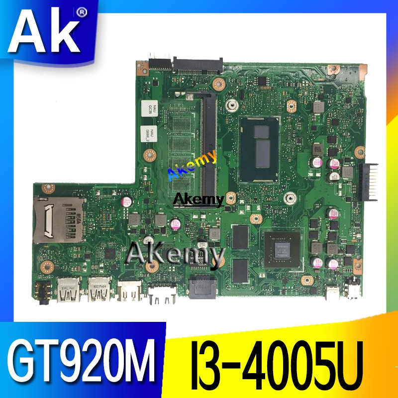 X540LJ For <font><b>ASUS</b></font> <font><b>X540L</b></font> F540L X540LJ <font><b>X540L</b></font> Laptop <font><b>motherboard</b></font> I3-4005U GT920M REV2.1 Test before shipping work 100% image