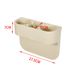 Image 5 - Skórzany Organizer na fotel samochodowy uchwyt organizator wielofunkcyjny fotel samochodowy pudełko do przechowywania w szczelinie obok fotela siedzenie z ABS szwy kieszenie organizator bagażnika