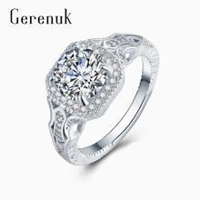 Gerenuk cz Большие кубические циркониевые белые кольца для женщин