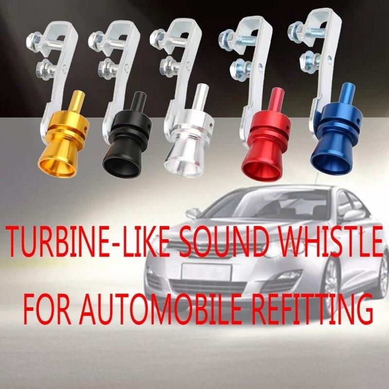 Tubi di Scarico Di Scarico Auto moto Modificato Silenziatore Universale Sound Turbo Whiste Universale Accessori di Modifica del 2020NEW Caldo