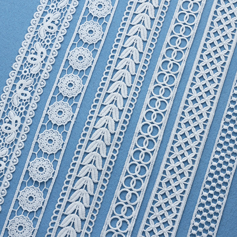 7 Yards Lace Trims Clothing Decorative Ribbon Patchwork DIY Home Furnishing Sewing Gift Wrapping Box Wedding Urn African Fabric