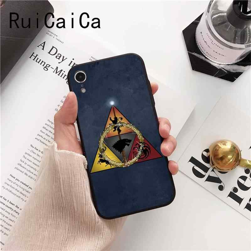 Ruicaica Game Thrones Daenerys Dragon Jon Snow tyrion lannister Phone Case for iPhone 8 7 6 6S 6Plus X XS MAX 5 5S SE XR 10