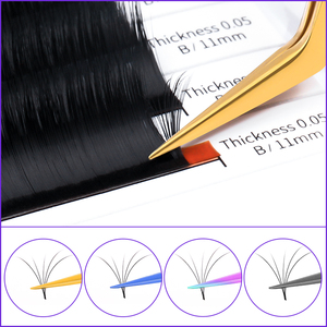 Image 2 - Vetus MCS סדרת פינצטה פרימיום יופי איפור נפח פינצטה ריס הארכת מספריים שווא עפעף אולטרה דק פינצטה
