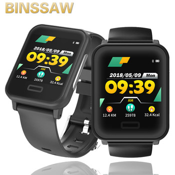 Men Smartwatch Bracelet Heart Rate Blood Pressure Wristband Waterproof Bluetooth Fitness Watch with ECG Women Smart IOS Android