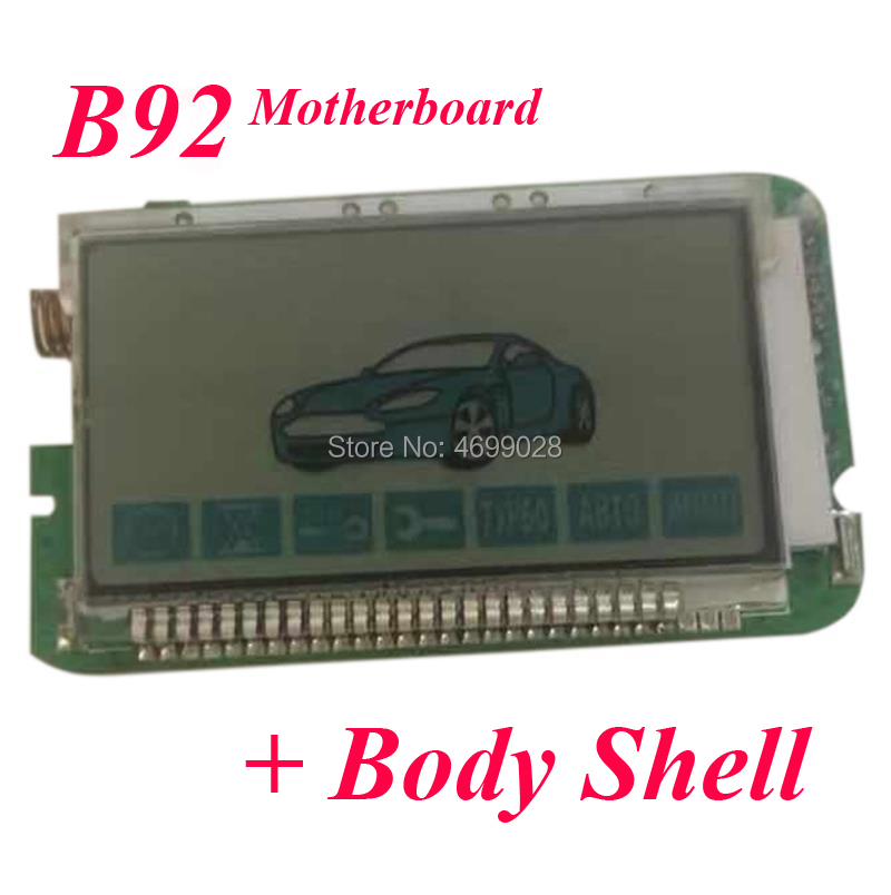 B92 For Two Way Car Alarm System StarLine B92 LCD Remote Control