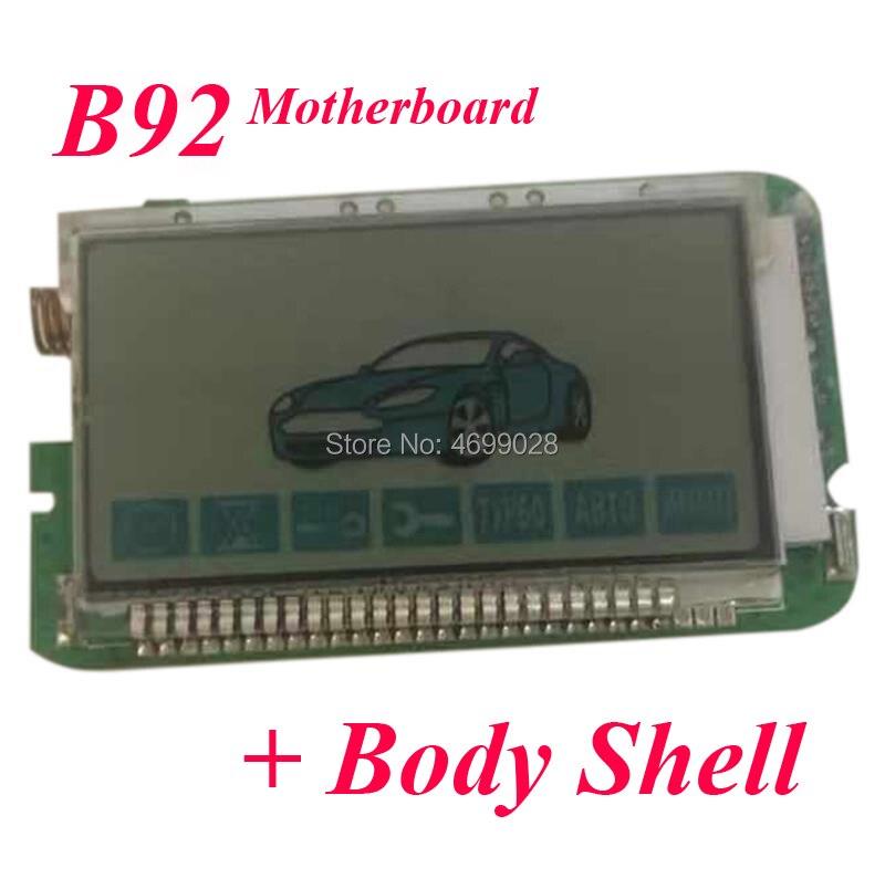 B92 For Two Way Car Alarm System StarLine B92 LCD Remote Control|Burglar Alarm| |  - title=