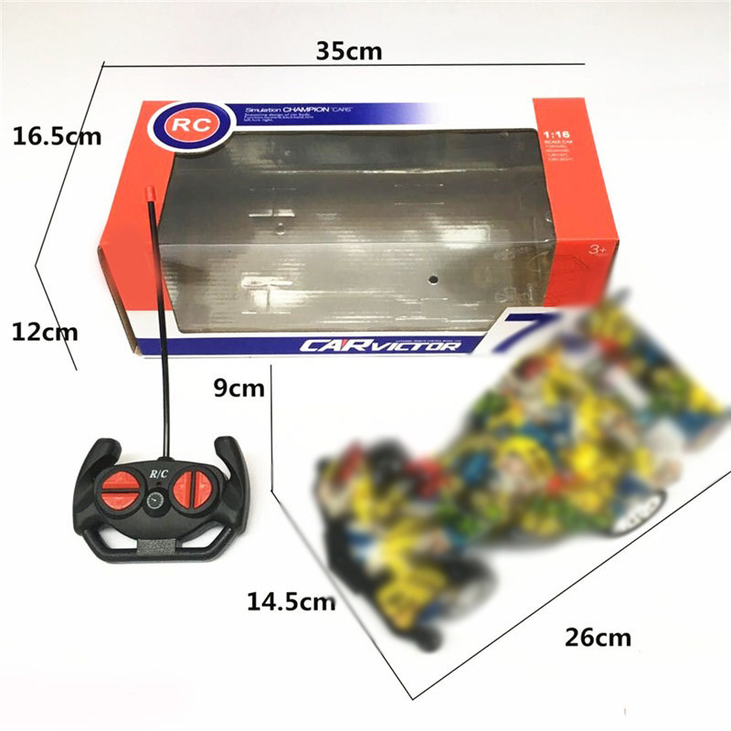 CHILDREN'S Toy Car Graffiti Electric Stone Remote Control Car Graffiti Buggies Light Included Light Model Model Toy Car