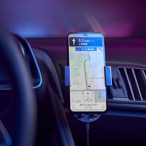 Image 2 - ZMI Kits 20W Wireless Car Charger Phone Holder WCJ10 Fast Charging For iPhone 11 Xiaomi Mi 9 Samsung 360 Degree Phone Holder