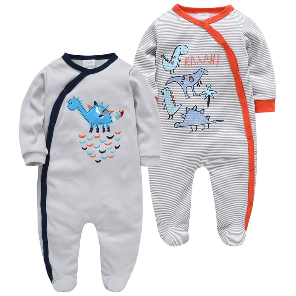 24M 9-12M, Pale Grey 2 Pack Zip Babygrow Romper Bodysuit Newborn