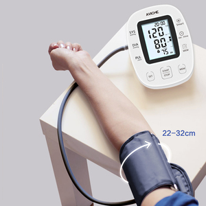 Image 5 - AVICHE Professional Automatic Digital Arm Blood Pressure Monitor Backlit LCD Display Talking Medical Device Sphygmomanometer
