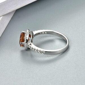 Image 5 - Zultanite султанит изменение цвета כסף טבעת נשים אופנה 2.3 קראט נוצר Diaspore S925 נישואים צבע שינוי אבן
