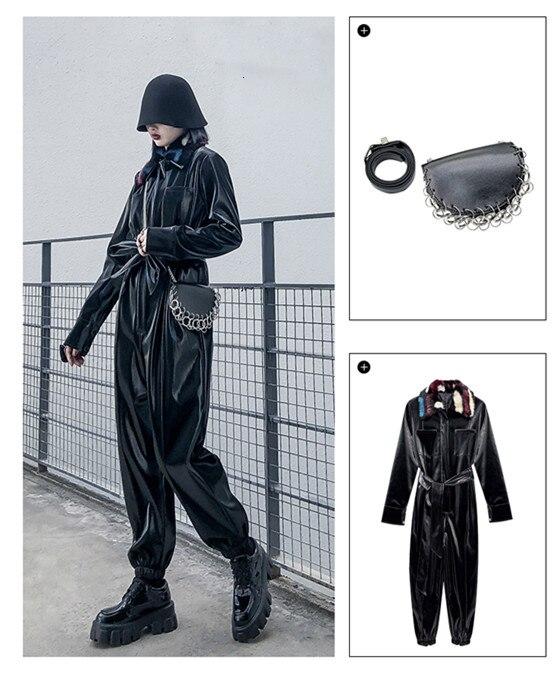 Image 3 - Pu Leather Woman Belt Chain Single Shoulder Bag Female Girdle Fashion Accessories Multifunction UseWomens Belts   -
