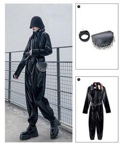 Image 3 - Sac à bandoulière en cuir Pu pour femmes, avec chaîne simple, accessoires de mode pour femmes, multifonction