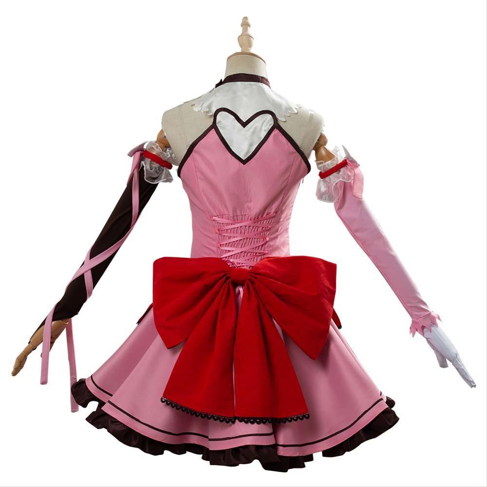 Game OW D.VA Cosplay DVA Hana Song Cosplay Costume Magic Girl Dress Adult Women Girls Halloween Carnival Costumes 5