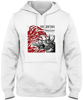 Ropa de marca Funny Neurosis Times Of Grace para hombres cuello redondo blanco manga larga gimnasio jogger invierno verano abrigo camiseta