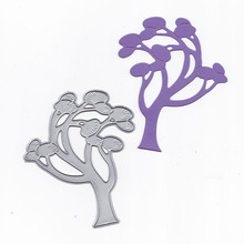 Mushroom Tree Metal Cutting Dies Stencil Scrapbooking Photo Album Card Paper Embossing Craft DIY