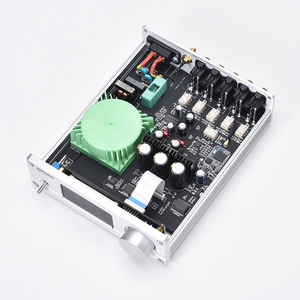 Image 5 - New VOL 01 HIFI NJW1194 Bluetooth 5.0 aptx Receive Remote Preamplifier 5 way Audio Pre amp With LED display Free Shipping